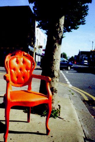 latex chair
