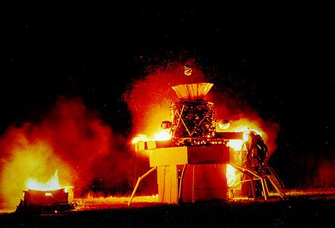 Fire Sculpture Event