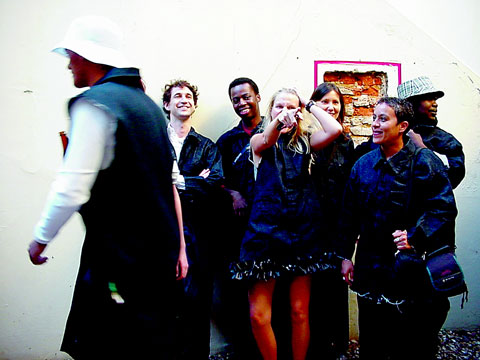 Juncture artists at Cape Town opening