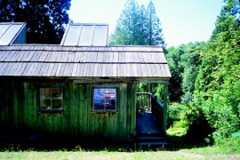 Resident Artist's Studio, Pilchuck Glass School, Seattle (exterior)