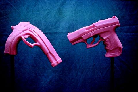 Pink Rubber Guns