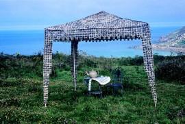 Teabag tea tent