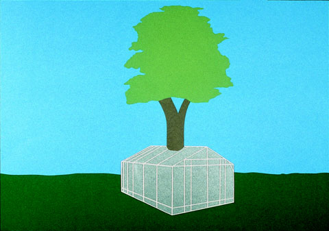 Assemblage of a Greenhouse, Around the Structure of a Tree