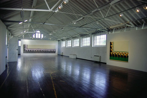 Installation view, Berwick Gymnasium