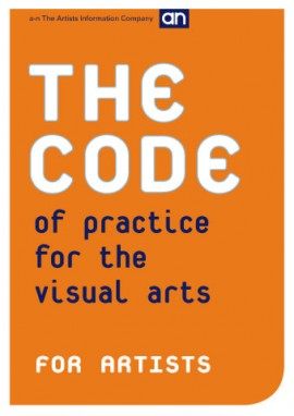 The Code of Practice for the Visual Arts: Artists