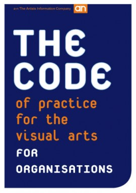 The Code of Practice for the Visual Arts: Organisations