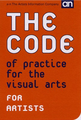 The Code of Practice for the Visual Arts - Artists