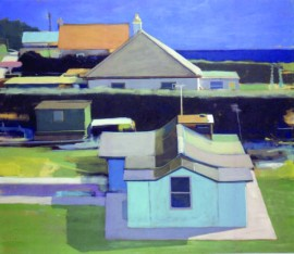Houses above the Sea