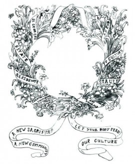 Wreath for Sacrificed Artist