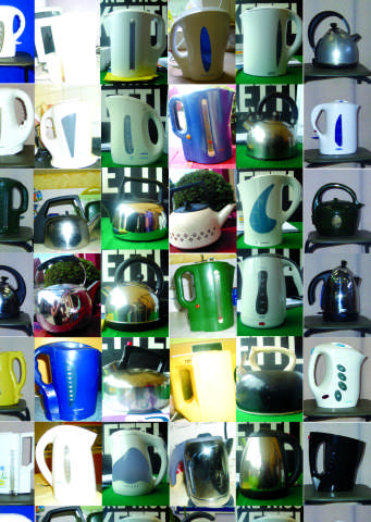 A selection of kettles