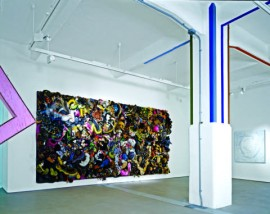Large painting and Horsemeat Disco