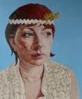 Easter Self Portrait with Head Band, 2012 - Rugby Art Gallery & Museums Collection