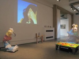 Trampoline and Ftumptch, Installation View