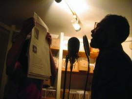 Pre-recording of Radio Gallery