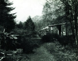 Archive photo of the Merz Barn in 1947-8