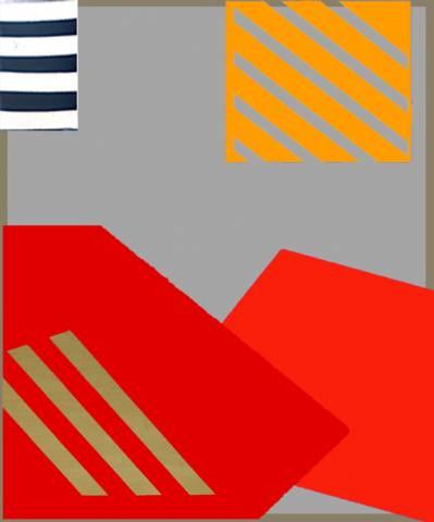 Berlin Series Grey Red