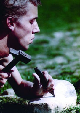 Portrait of Adam Reynolds c. 1983