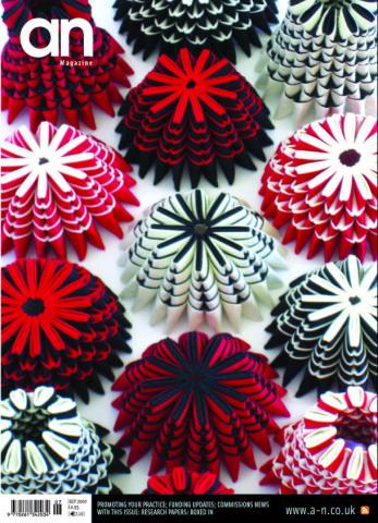 Circles & Cones, 3D Textiles, Cotton, 2007.