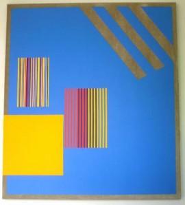 Blue Berlin Painting