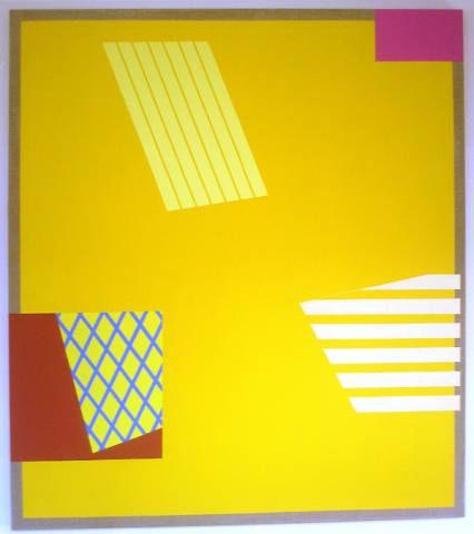 Yellow Berlin Painting