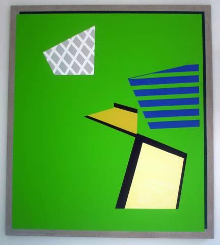 Green Berlin Painting