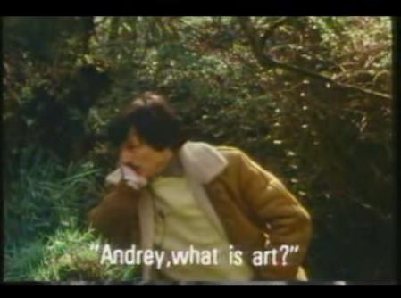 Andrey, what is art?