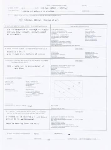 Risk Assessment (part of series) 2007