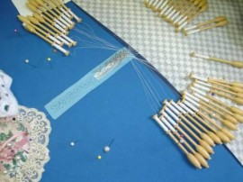 making of lace