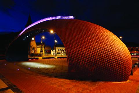 Civic Heart Arch