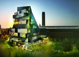 Transforming Tate Modern, Night South View