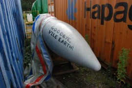 Tagged missile