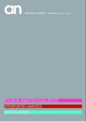 Research papers: Art work in 2007