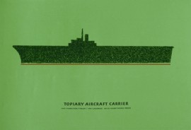 Topiary Aircraft Carrier