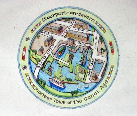 Stourport Town Map