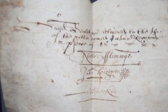 Signature of John (Beigarm?) Bosigran