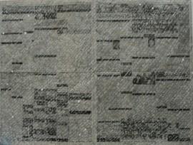 Newspaper/handwriting