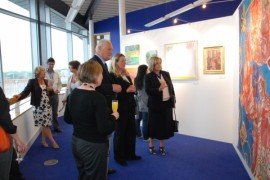 Opening of library DAWS exhibition
