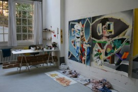 Studio at the British School at Rome