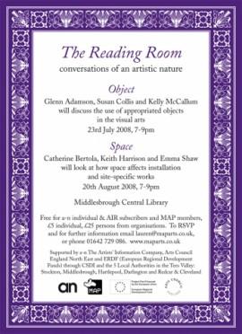 Reading Room e-flyer