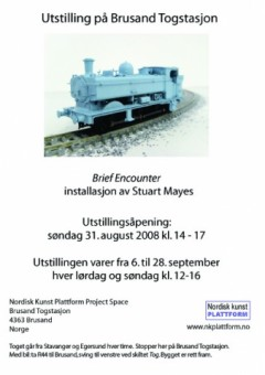 Brief Encounter invitation