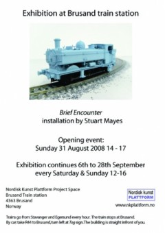 Brief Encounter invitation (English)
