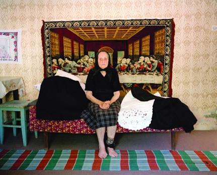 Mara (Orubica, Croatia) Clothes for Death series of photographs