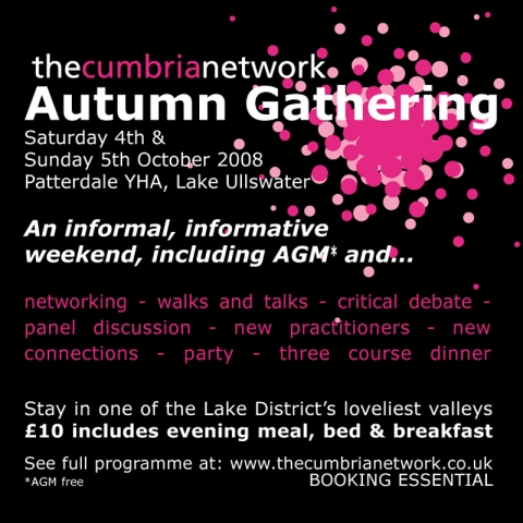 The Cumbria Network Autumn Gathering