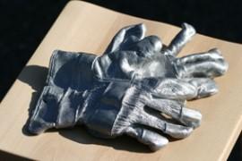 Cast Aluminium Gauntlets