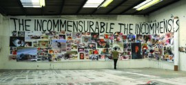 The Incommensurable Banner (studio view)