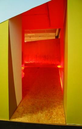 Topside (installation view at Milliken Gallery)