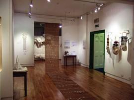 Brown Linen (installation view)