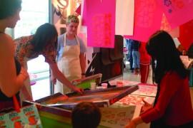 Londonprintstudio workshop
