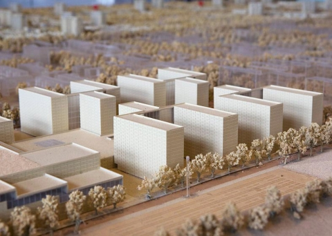 Model of Pujiang New Town