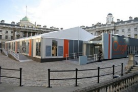 Origin 2008, exterior of Somerset House